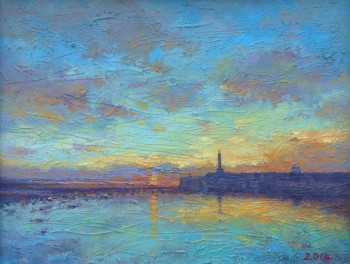 Margate Harbour – Sunset