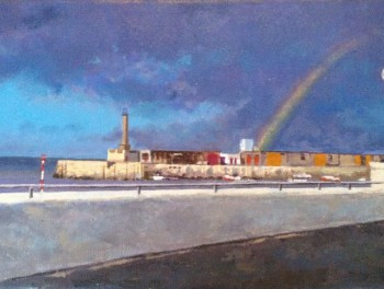 Margate Harbour – Rainbow