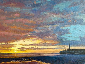 Margate Harbour Sunset