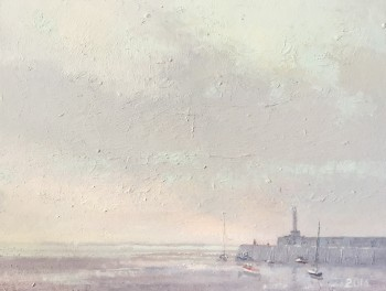 Margate Harbour – A Grey Day