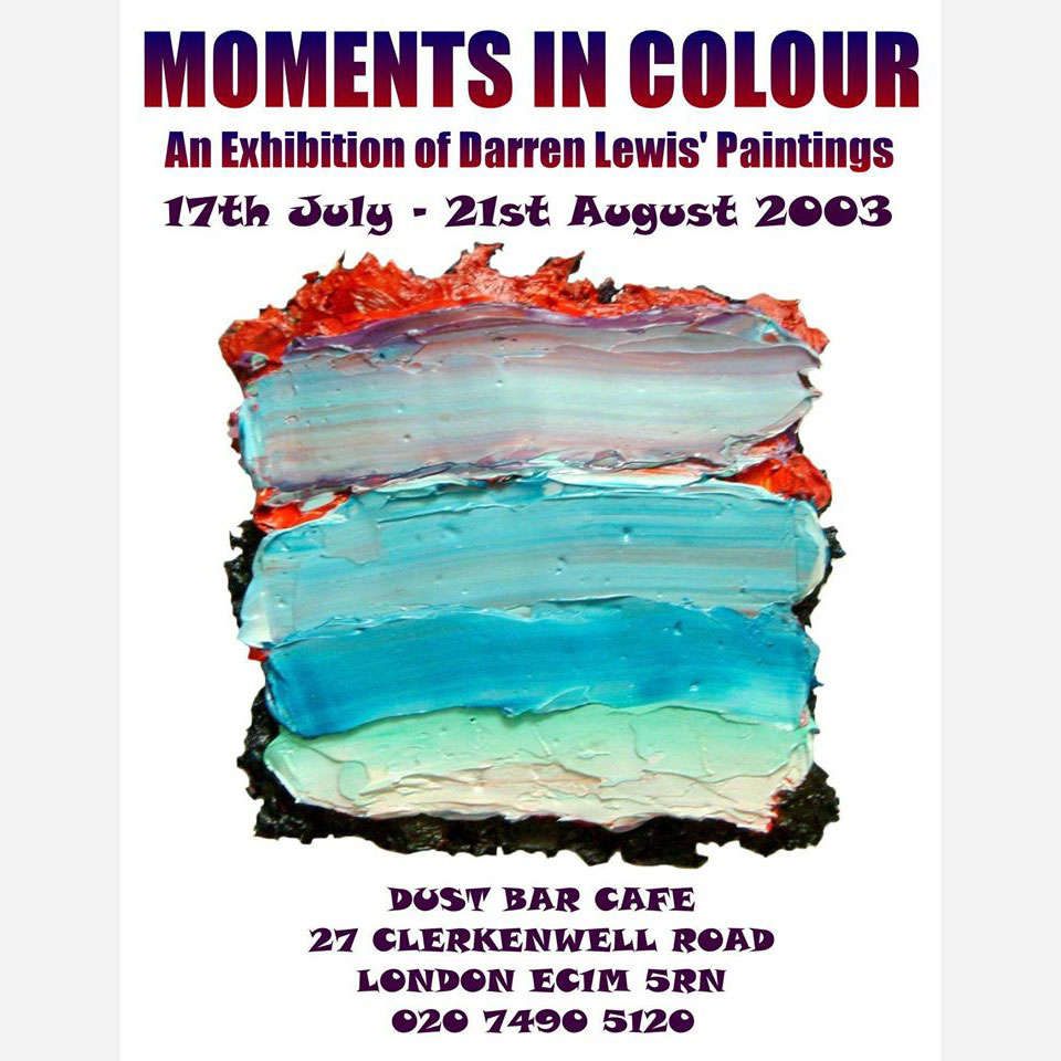 Moments in Colour 2003