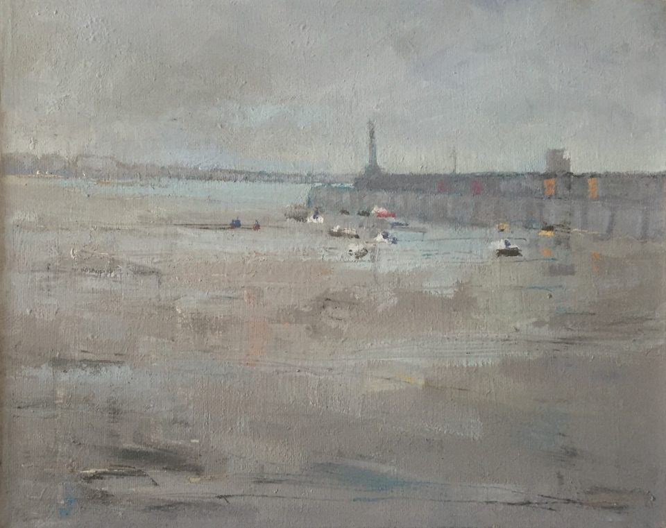 Margate Harbour – Rainy Day in January