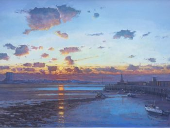 Margate Harbour – Winter Sunset