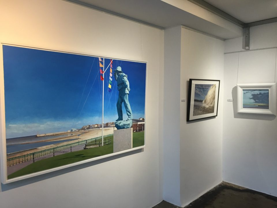 Sand, Sea and Light 2016 at Pie Factory Gallery 2016