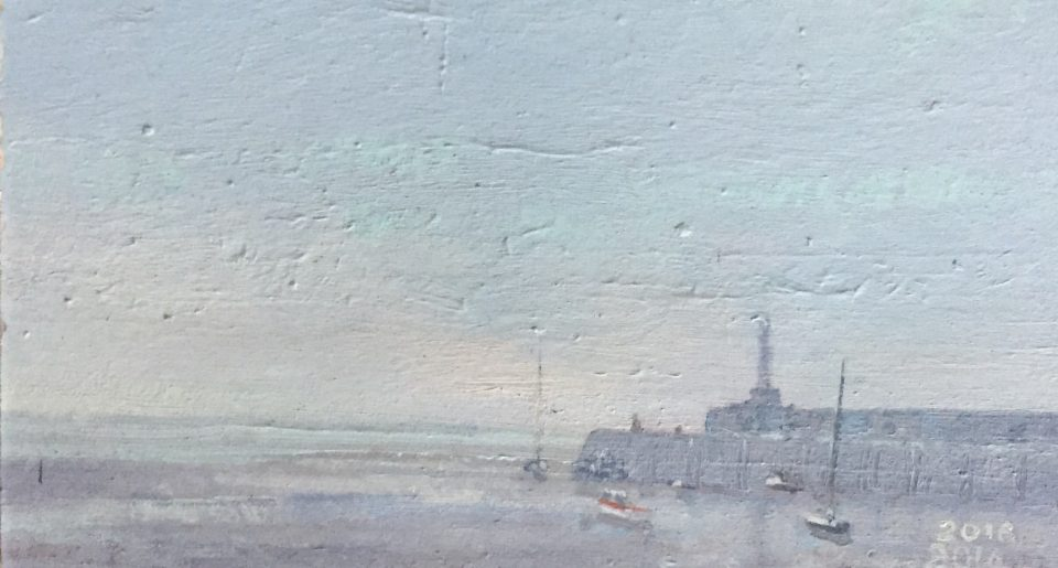 Margate Harbour – Misty