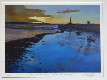 Margate Harbour – Blue Reflection