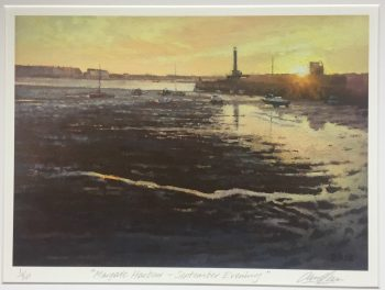 Margate Harbour – September Evening