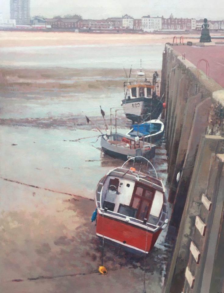 Four Boats and Mrs Booth – Margate