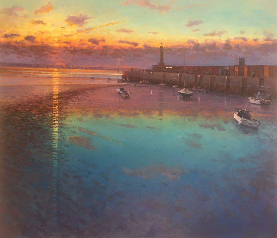 Margate Harbour – Winter Sunset III