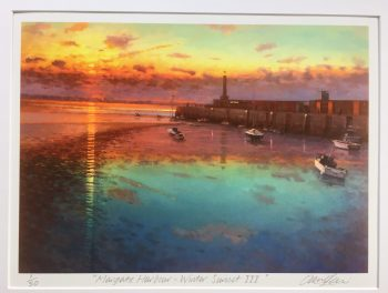 Margate Harbour – Winter Sunset III