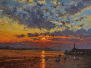 Margate Harbour – Winter Sunset IV