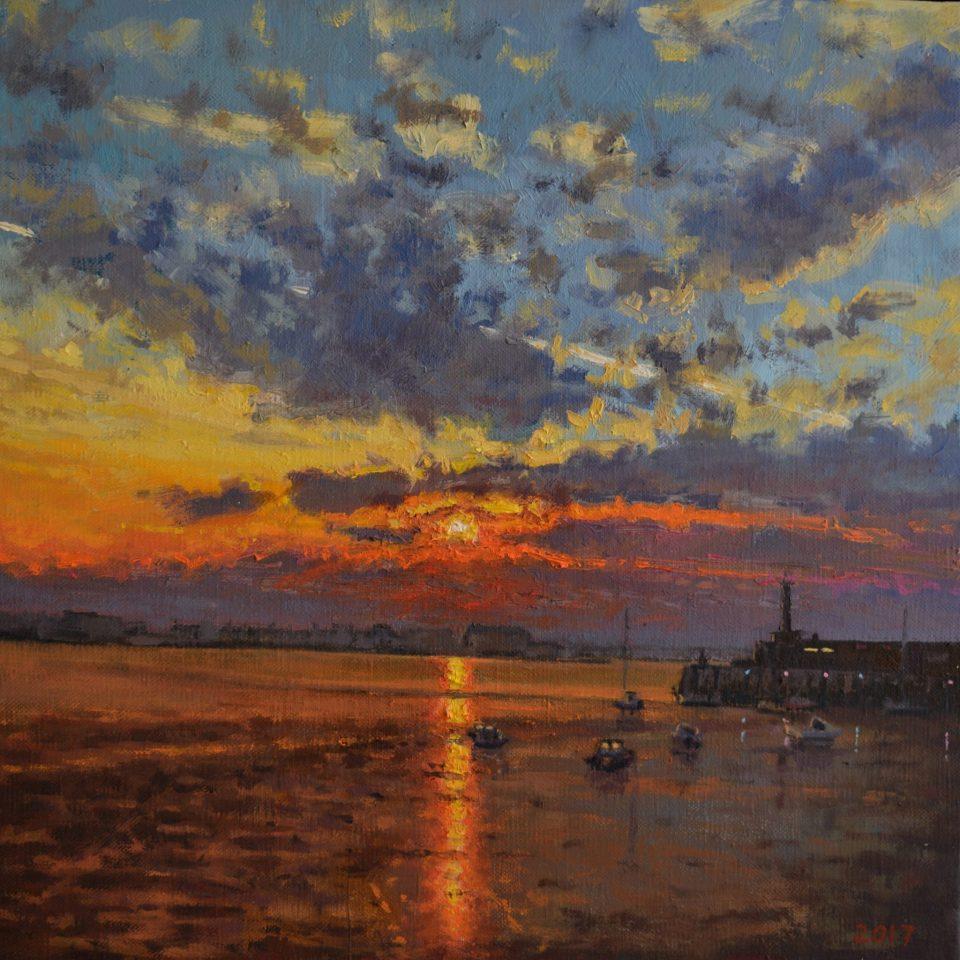 Margate Harbour – Winter Sunset IV
