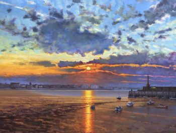 Margate Harbour – Winter Sunset V