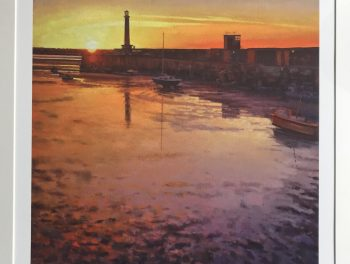 Margate Harbour – Orange Sunset