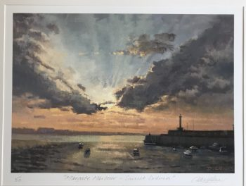 Margate Harbour – Sunset Drama