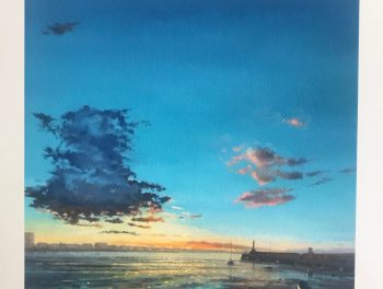 Margate Harbour – Blue Cloud