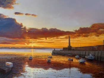 Margate Harbour – Winter Reflections III