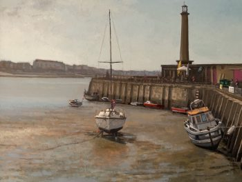 Margate Harbour – A Clear Day