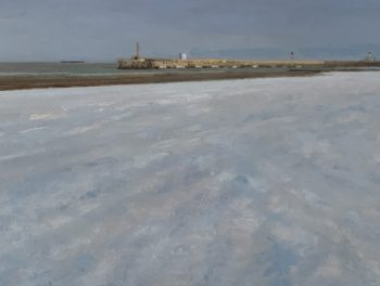 Margate Harbour – Snow