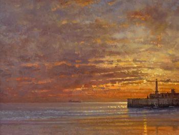 Margate Harbour – Last of the Sun