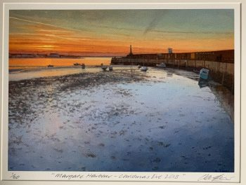 Margate Harbour – Christmas Eve 2018