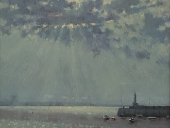 Margate Harbour – Streaming Light