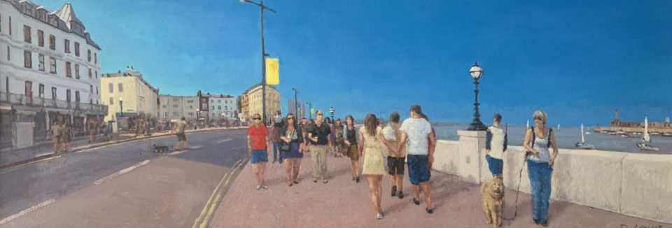 Margate Harbour – Summer