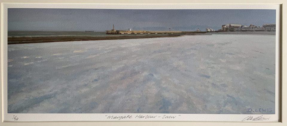 Margate Harbour – Snow