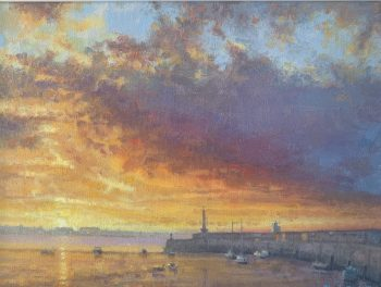 Margate Harbour – Purple Cloud II