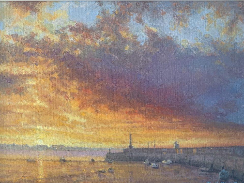 Margate Harbour – Purple Cloud II