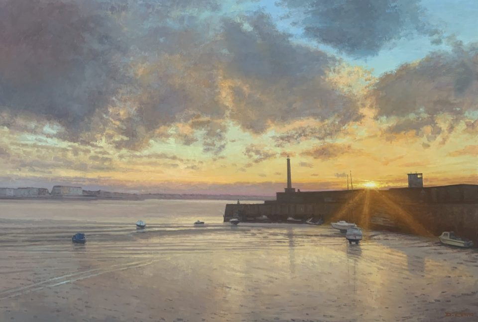 Margate Harbour – March Sunset