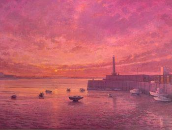 Margate Harbour – Pink