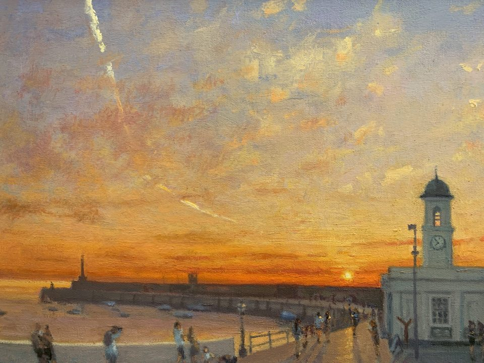 Margate Harbour Arm – Sunset