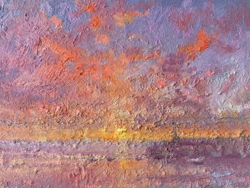 Margate Harbour – Red Clouds