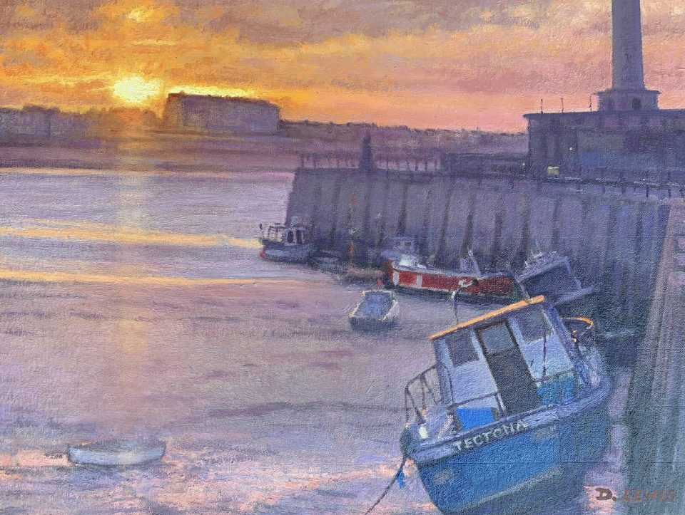 Margate Harbour Boats – Christmas Eve 2020