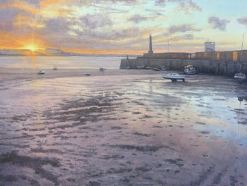 Margate Harbour – Christmas Eve 2020